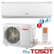 Кондиционер инверторный Tosot GS-09D (Tosot Smart Inverter, тепло до -15, холод до +48оС)